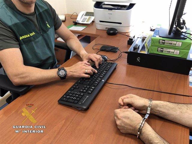 Un detenido por la Guardia Civil por robos en Ezcaray