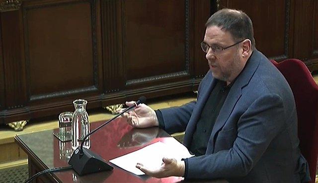 El president d'ERC, Oriol Junqueras