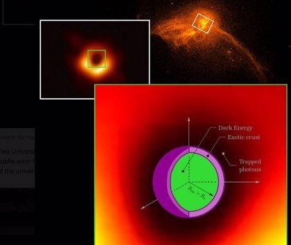 ¿Están hechos los agujeros negros de energía oscura?