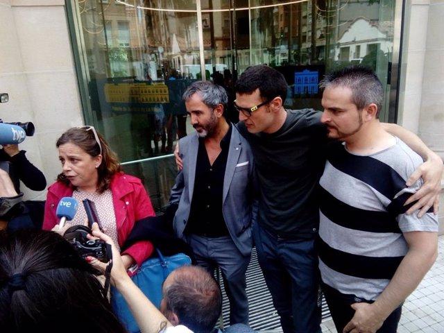 """El juicio contra los tres acusados de incidentes el día de la huelga general del 14N del 2012 se celebrará del 9 al 11 de abril del 2018 después de que, en la mañana de hoy, no se alcanzara ningún acuerdo dado que """"cualquiera pasaba por el reconocimien"""