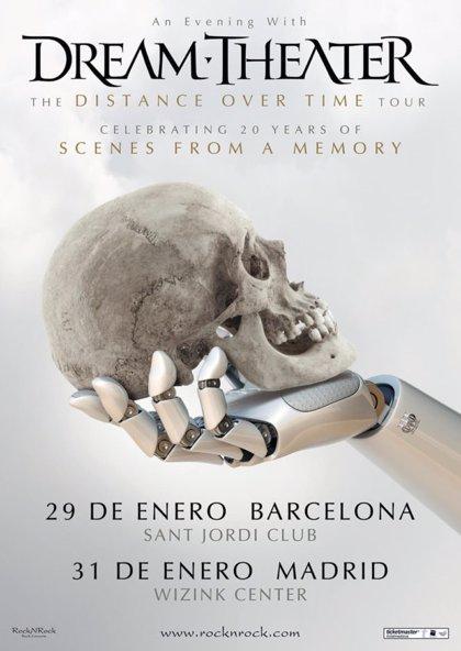 Dream Theater anuncian conciertos en Barcelona y Madrid en enero de 2020