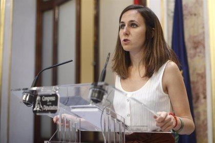 """Belarra acusa al PSOE de dar """"20 pasos atrás"""" desde julio: """"Es difícil acordar con quién no quiere llegar a un acuerdo"""""""