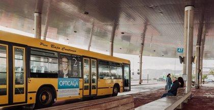 Canarias, donde más aumentan los usuarios de guaguas urbanas con un 10,9% más en julio
