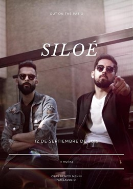 Integrantes del grupo 'Siloé' que ofrecen un concierto solidario en el Hospital Benito Menni de Valladolid.