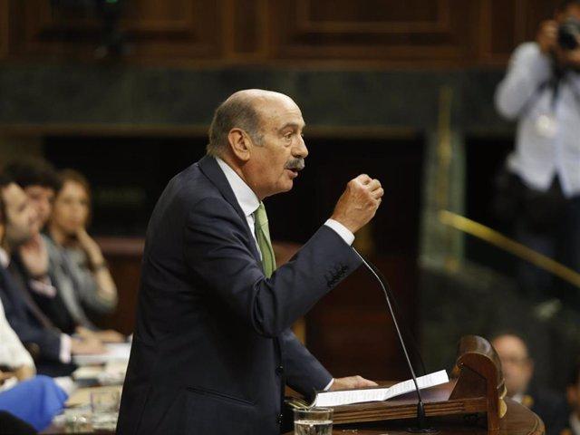 El diputado nacional del Partido Regionalista de Cantabria, José María Mazón