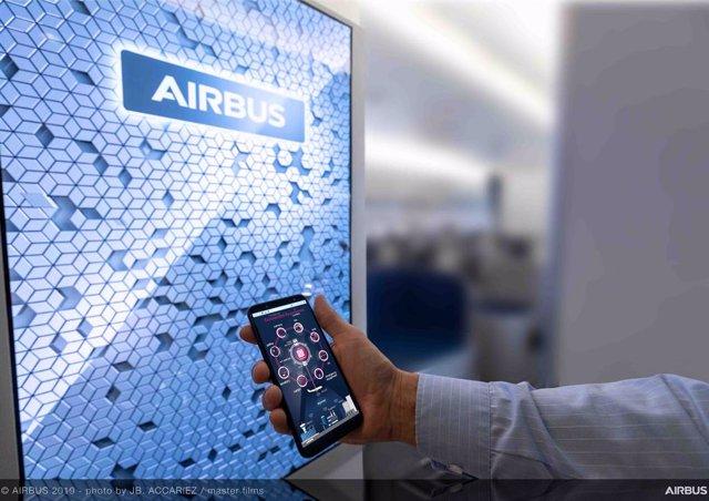 Cabina conectada de Airbus