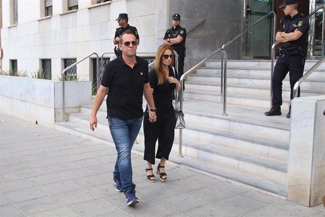 Llegada de Francisco Cruz, hermano de Ángel, , para declarar como testigo en la tercera sesión del juicio contra Ana Julia Quezada por el crimen del niño Gabriel Cruz, en la Audiencia de Almería..