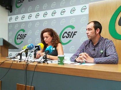 CSIF plantea otra demanda a la Junta de Extremadura para la contratación de docentes interinos a 1 de septiembre