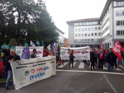 Los trabajadores de Itvasa, decididos a ir a la huelga si el Principado no atiende a sus reivindicaciones
