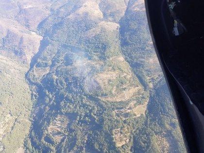 Estabilizados y con nivel 1 de peligrosidad los incendios en La Vera y el de Garganta la Olla sigue activo