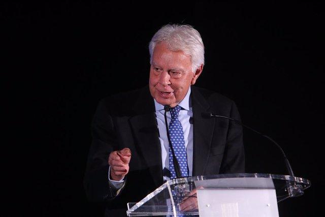 Felipe González ofrece el viernes la conferencia inaugural de un curso en Cabeza