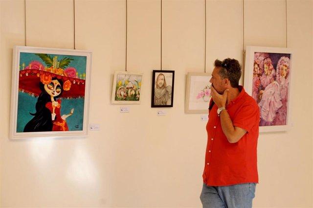 Exposición de los alumnos de la Escuela de Arte de José Luis Muñoz