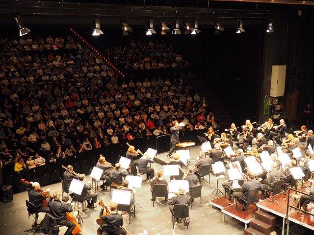 Orquesta Sinfónica de las Islas Baleares.