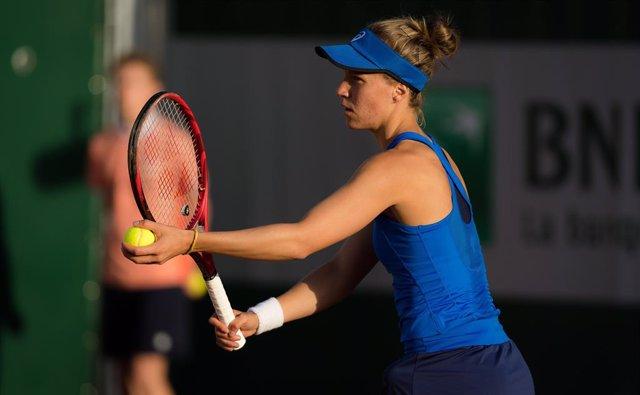 Tenis.- Lara Arruabarrena cae en la segunda ronda del torneo de Nanchang ante la