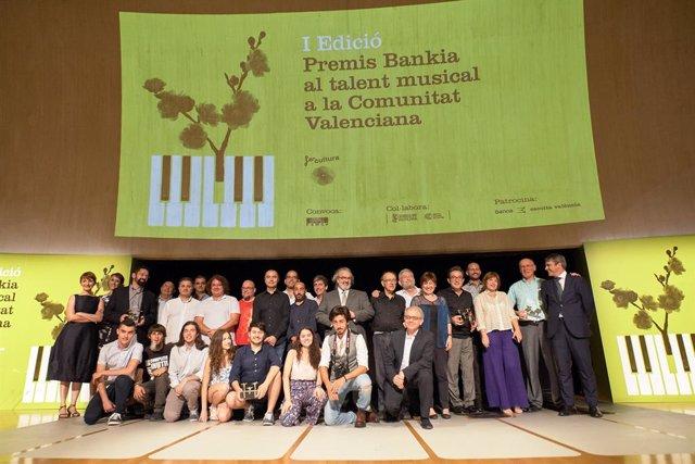 I Edició Premis Bankia al talent musical a la Comunitat Valenciana