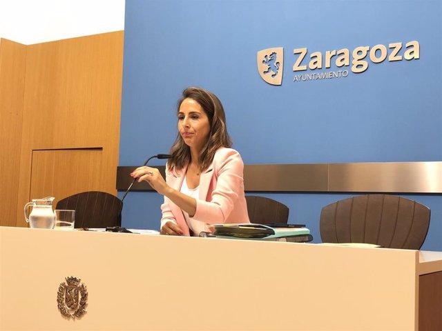 La consejera municipal de Hacienda, María Navarro.