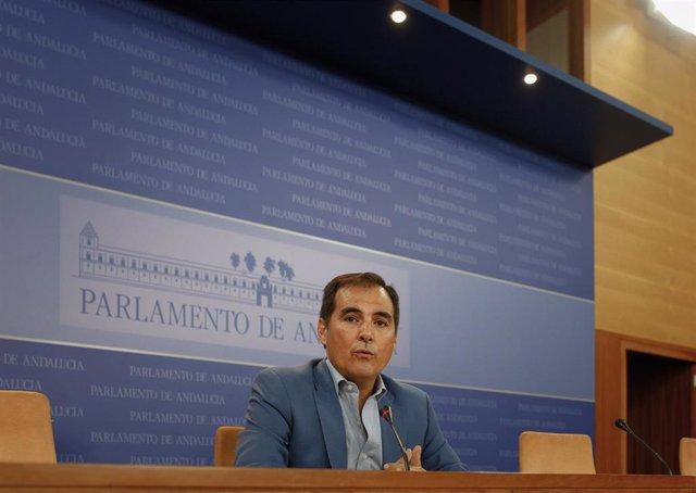 El portavoz del Grupo Parlamentario Popular, José Antonio Nieto