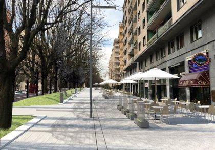 Las obras reurbanización de los impares de la avenida Sancho el Sabio comienzan este jueves