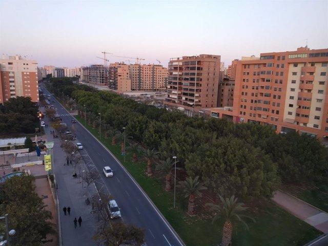 Avenida Historiador Vicente Ramos, Alicante. Imagen de archivo.