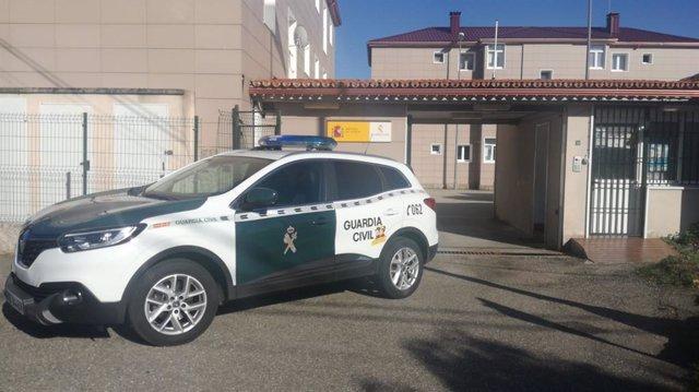 Puesto de la Guardia Civil en Mos (Pontevedra)