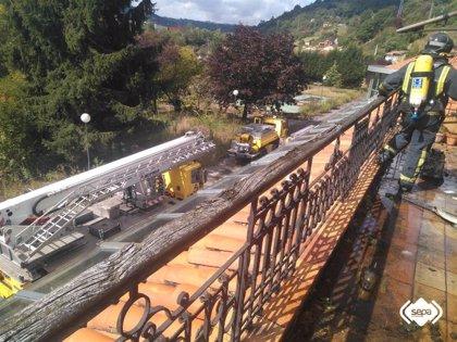 Sofocado un incendio en un restaurante sin actividad ubicado en San Vicente (SMRA)