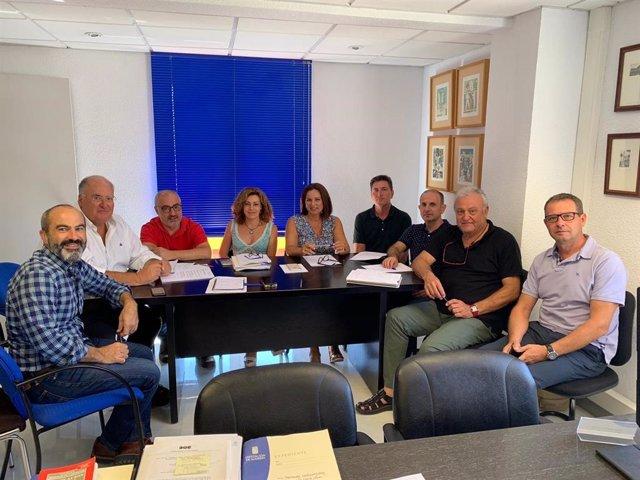 Reunión con las unidades de asistencia a municipios