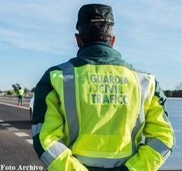 Agente de la Guardia Civil de TRáfico, en una imagen de archivo