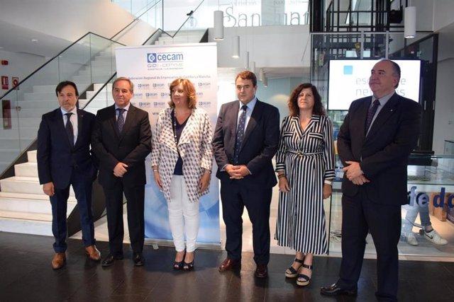 Comité Ejecutivo de Cecam en Albacete