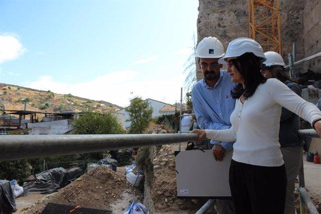 Trabajos arqueológicos en las murallas del Albaicín