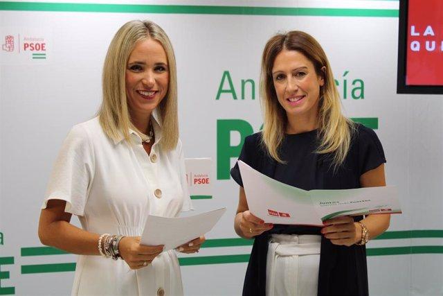 Patricia Alba Antonia Garcia (PSOE de Málaga)