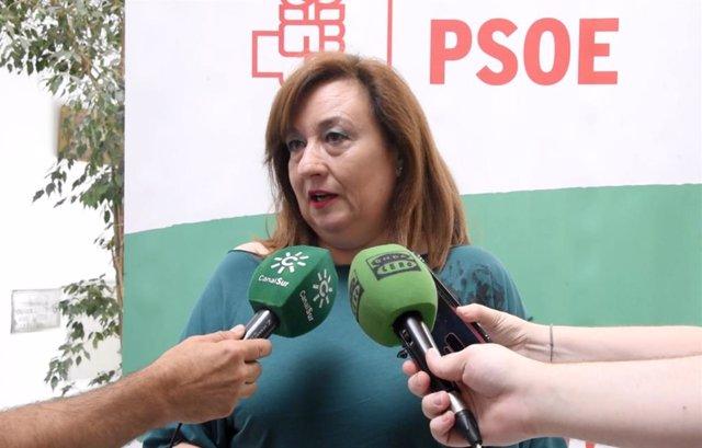 La portavoz de Igualdad del PSOE-A, Soledad Pérez, en una imagen de archivo