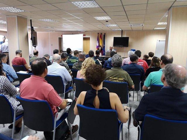 Reunió entre els representants del Govern de les Balears i les entitats que formen part de INUNBAL.