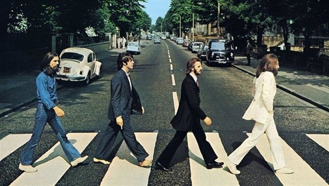 The Beatles en Abbey Road