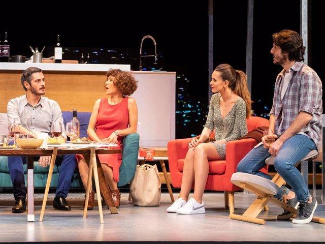 Escena de la comedia 'Perfectos desconocidos'