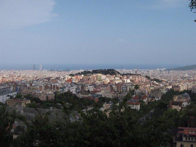 Vistes De Barcelona Des del Tibidabo
