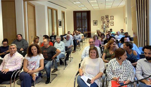 Nota De Premsa + Foto: Consell Polític Dels Socialistes De Mallorca