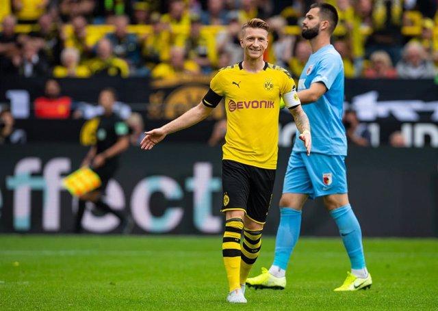 Marco Reus, con el Borussia Dortmund.