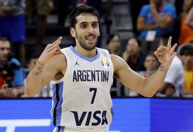 Facu Campazzo con la selección argentina