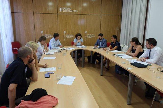 Reunión del Patronato de la Fundación de Atención y Apoyo a la Dependencia y Autonomía Personal de Baleares