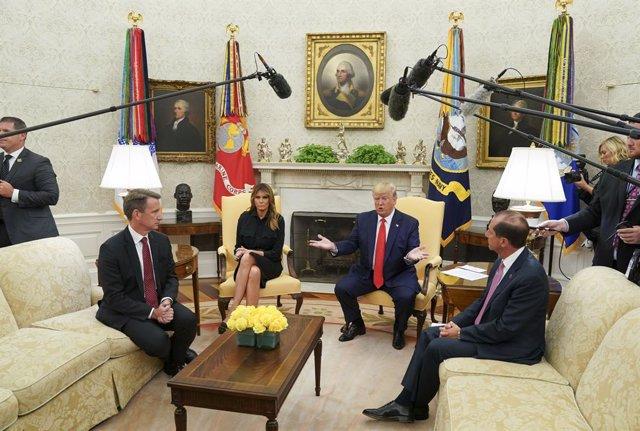 Irán.- Trump abre la puerta a una posible retirada de las sanciones contra Irán: