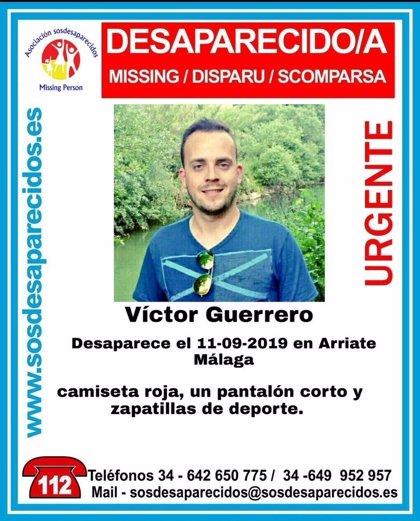 Buscan a un hombre desaparecido en Arriate (Málaga)