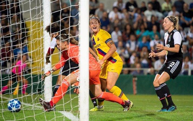 Fútbol/Champions.- El Bara derrota a la Juventus y se acerca a los octavos de f