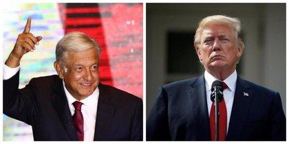 México/EEUU.- López Obrador y Trump reafirman su voluntad de mantener una relación bilateral amistosa y cooperativa