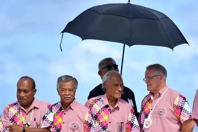 Tonga.- Muere en Nueva Zelanda a los 78 años el primer ministro de Tonga