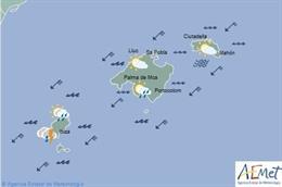 El tiempo en Baleares hoy, 12 de septiembre de 2019.