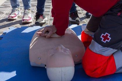 Cruz Roja enseñará primeros auxilios en las calles de Pamplona y Tudela