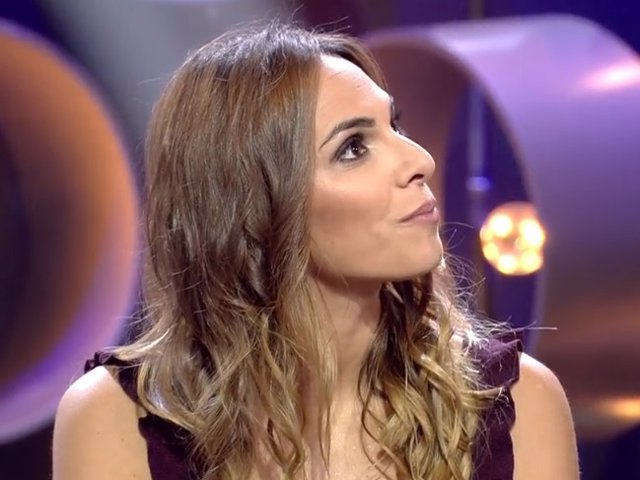 Irene Rosales en el plató de 'Gran Hermano VIP 7'