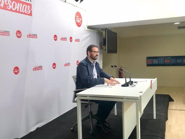 """Agua.- Gutiérrez (PSOE) coloca como """"prueba de fuego"""" para el PP apoyar la derog"""