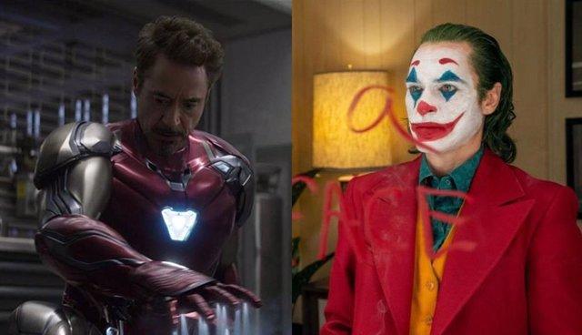 Iron Man en Vengadores: Endgame y Arthur Fleck en Joker