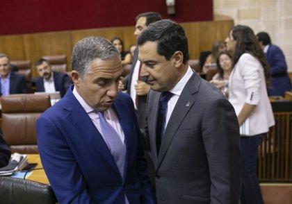 """Moreno insta a alcanzar un """"gran pacto"""" de Educación en Andalucía y prevé """"un salto de calidad"""" en esta legislatura"""